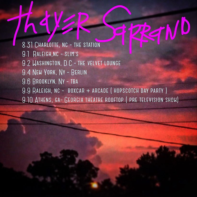 Thayer Sarrano - East Coast 2.5 (2016)