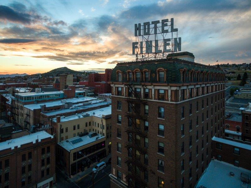 Thayer Sarrano at Finlen Hotel