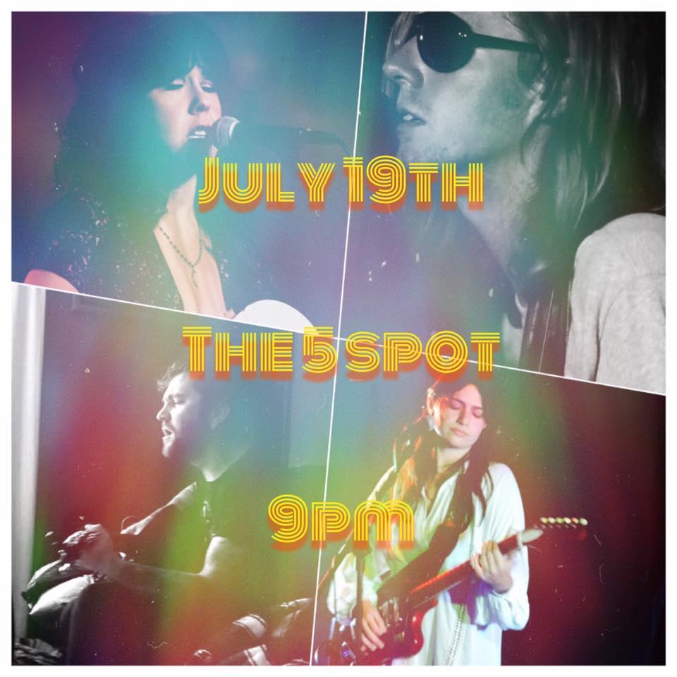 Thayer Sarrano -- The Five Spot (Poster Art: Kashena Sampson)
