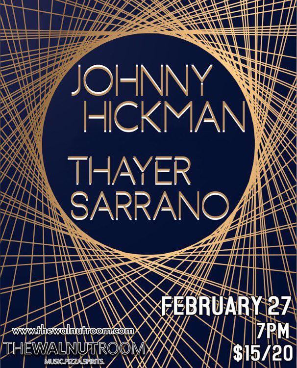 Thayer Sarrano - The Walnut Room (Denver, CO)