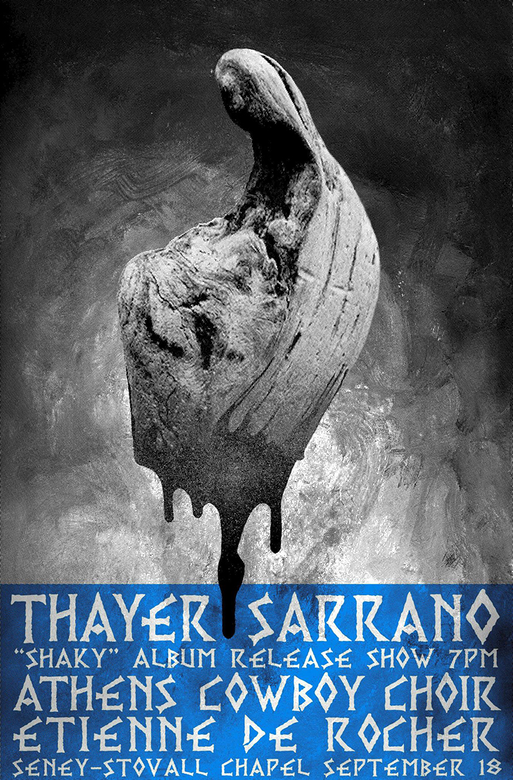 Thayer Sarrano - Shaky Tour (East Coast 1.0)